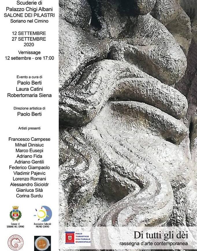 12 Settembre – Di tutti gli dèi, Rassegna d'arte contemporanea
