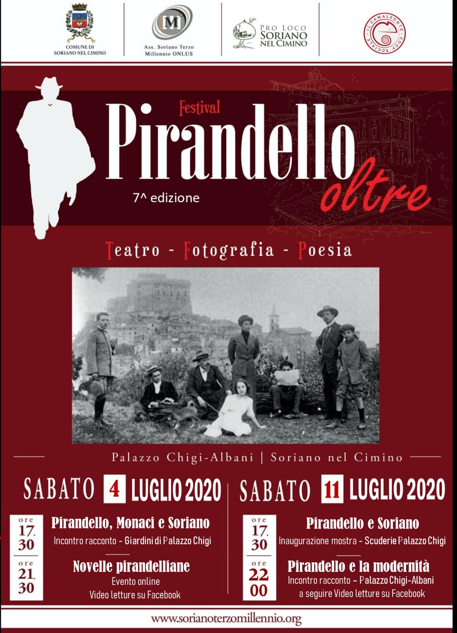 """Festival """"Pirandello Oltre"""" - 7° edizione"""