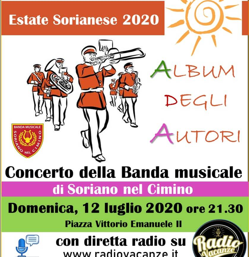 """Concerto della Banda Musicale di Soriano nel Cimino """"Album degli Autori"""""""