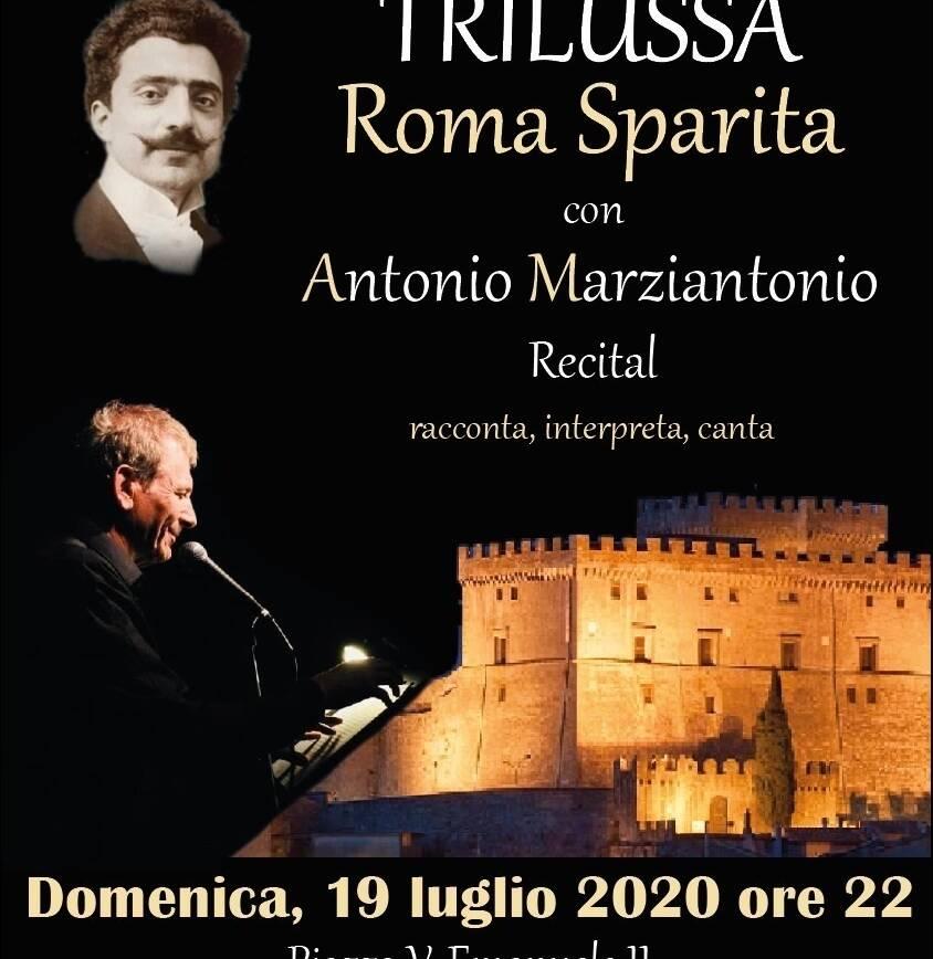 Trilussa, Roma sparita con Antonio Marziantonio