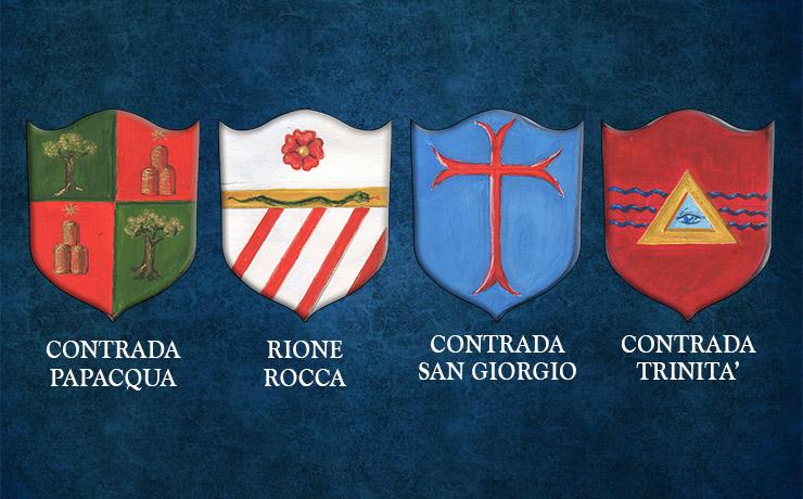 Alla scoperta delle tradizioni del Borgo: i 4 Rioni