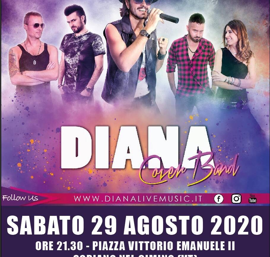 Diana Cover Band