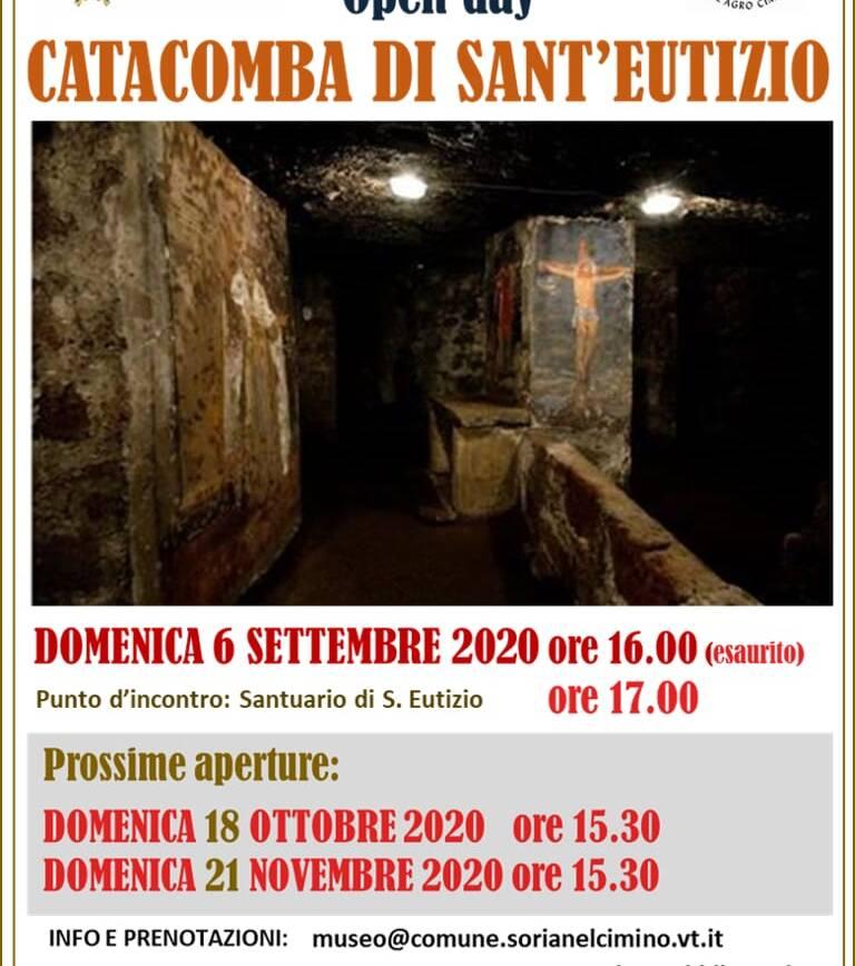 Open day alla catacomba di Sant'Eutizio