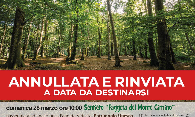 """Annullata – Soriano Outdoor – Sentiero """"Faggeta del Monte Cimino"""""""