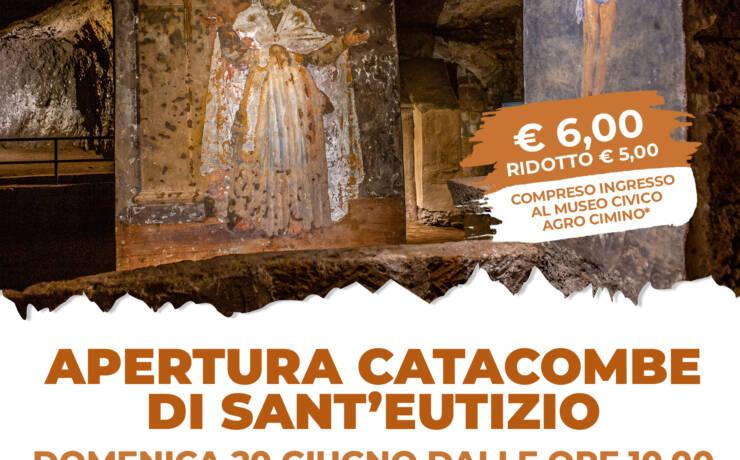 Apertura Catacombe di Sant'Eutizio