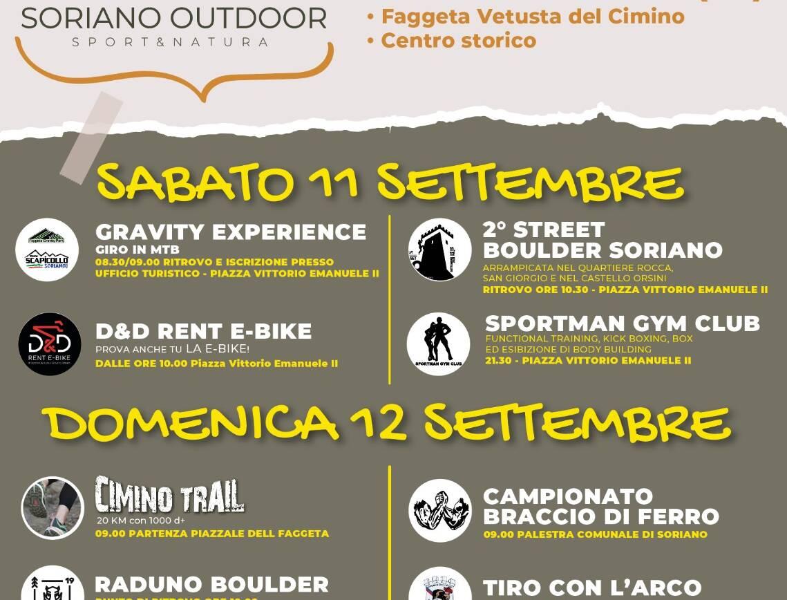 Soriano Outdoor – Sport & Natura