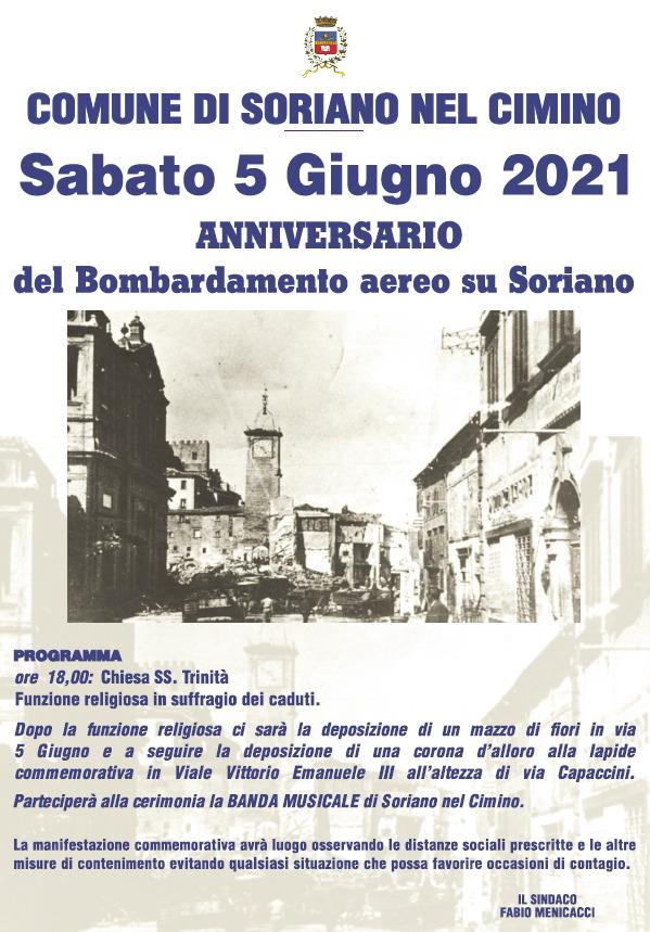 Anniversario del Bombardamento aereo su Soriano