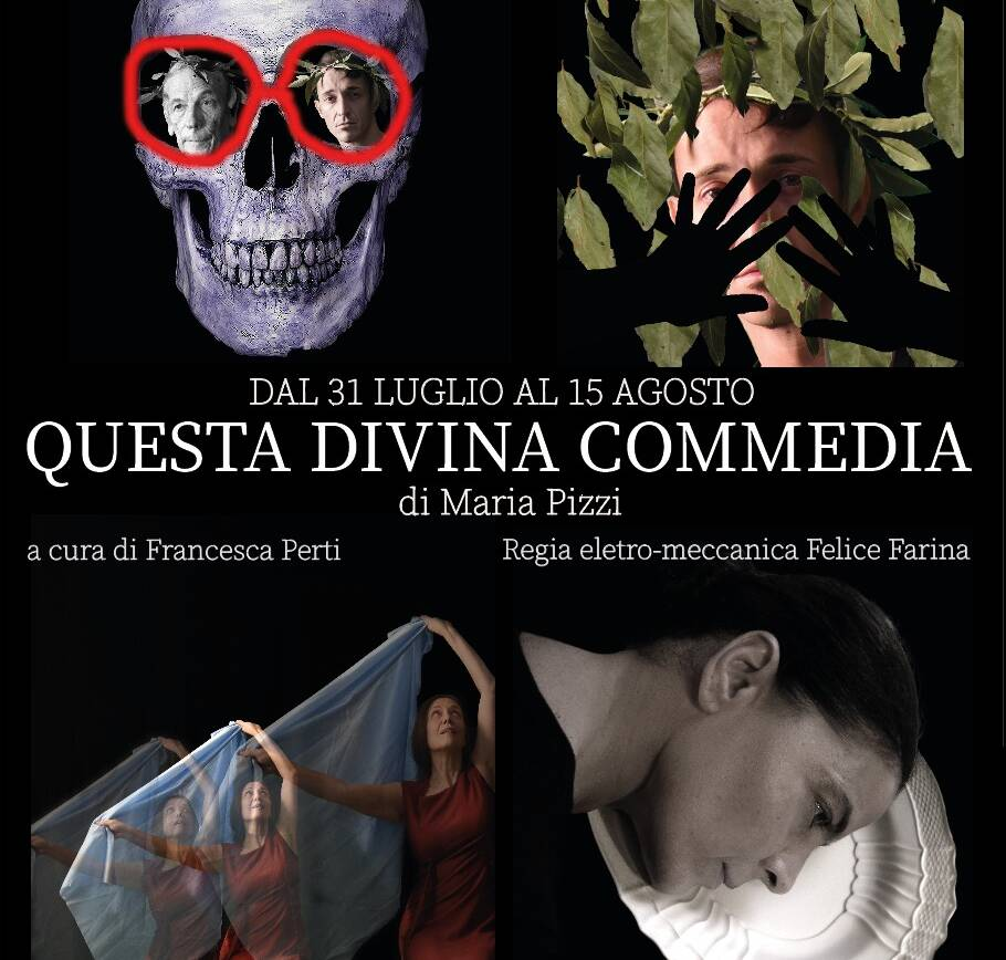 "Mostra ""Divinamente Commedia"" di Maria Pizzi"
