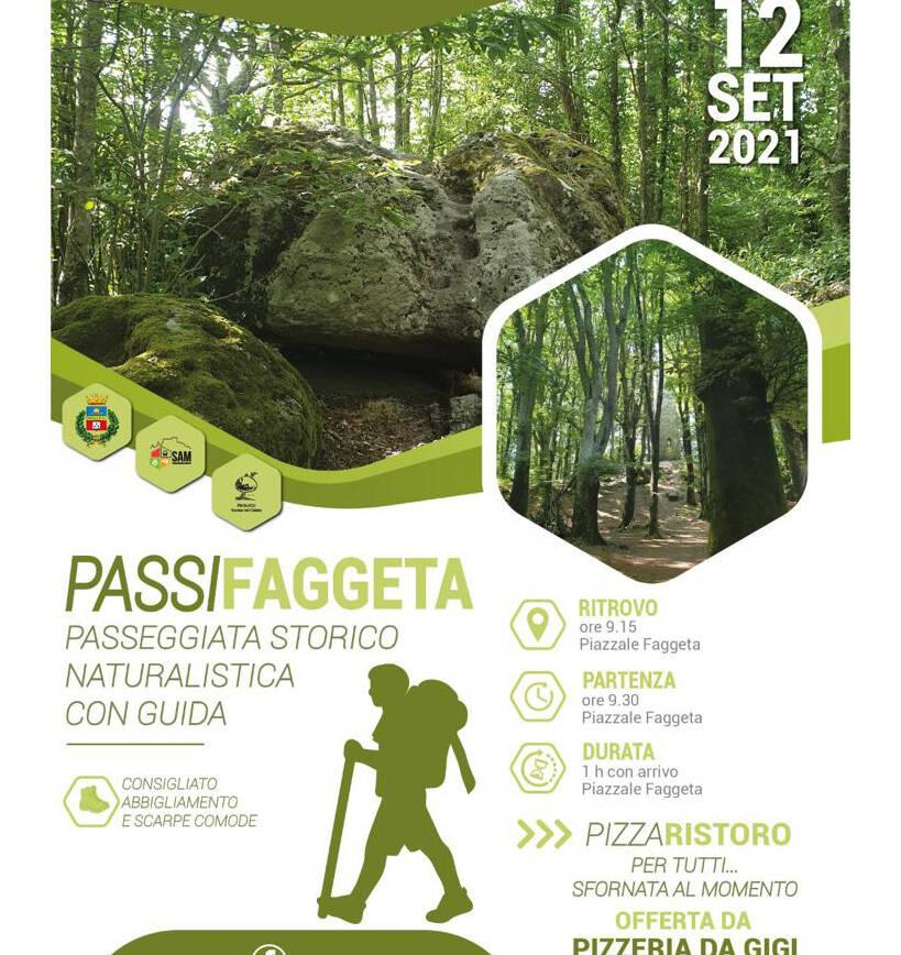PassiFaggeta – Passeggiata Storico Naturalistica con guida
