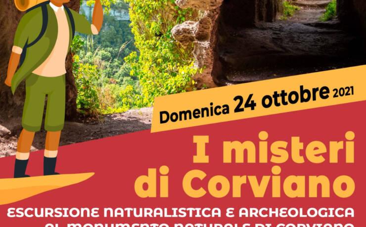 Escursione naturalistica e archeologica al monumento naturale di Corviano