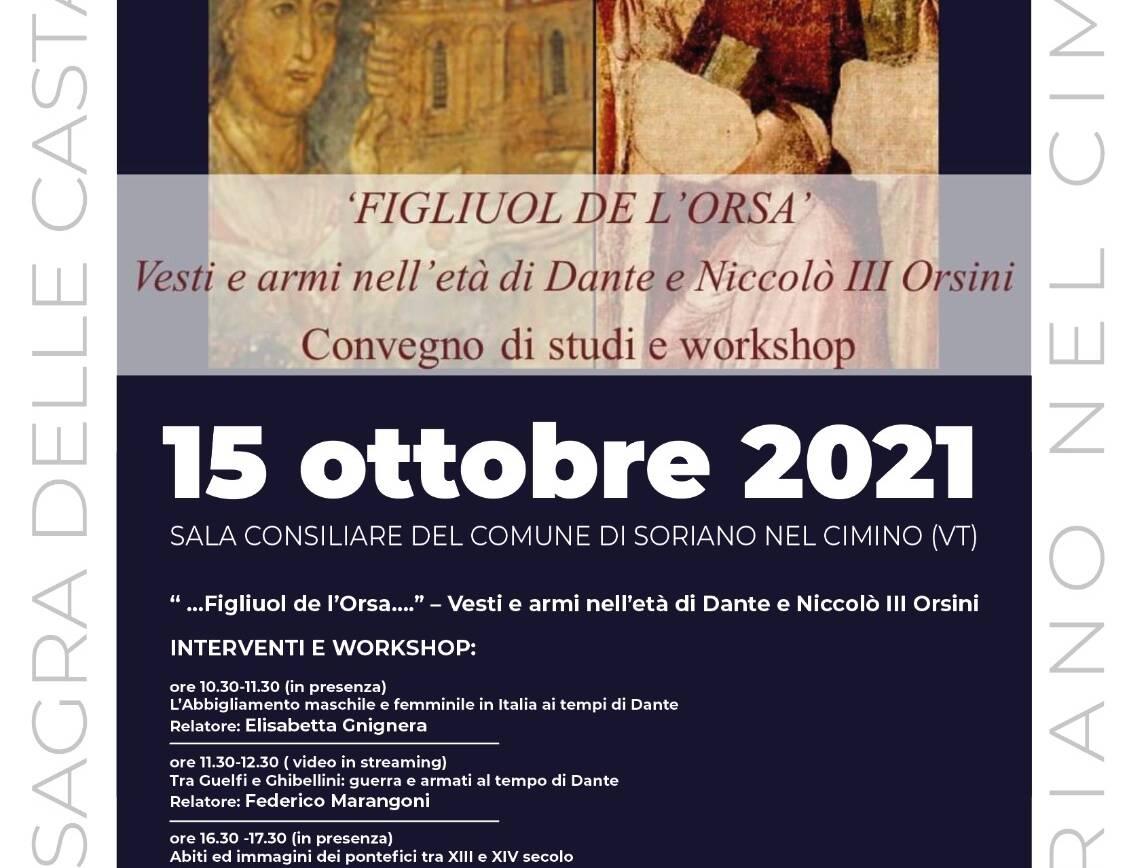"""""""'Figliuol de l'orsa'"""" Vesti e armi nell'età di Dante e Niccolò III Orsini"""